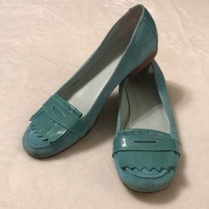 GAP Light Blue Suede Loafers - Size 7